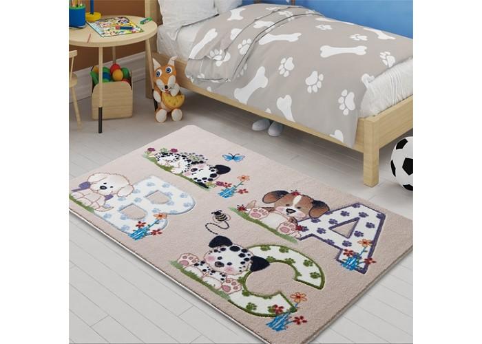 Детские ковры Confetti Kids Коврик Abc 9 мм 100х150 см, Детские ковры - артикул:471316