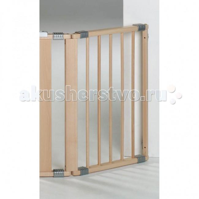 Барьеры и ворота Geuther Дополнительная секция 44 см geuther 95x77 см 2764 дополнительная секция для защитных барьеров white