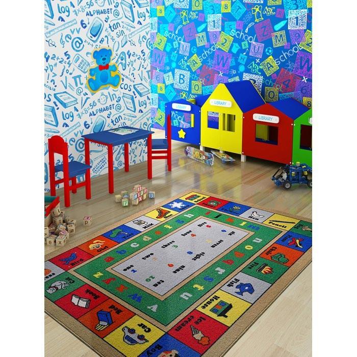 Детские ковры Confetti Kids Коврик Rugs Lesson 3 мм 133х190 см, Детские ковры - артикул:471426
