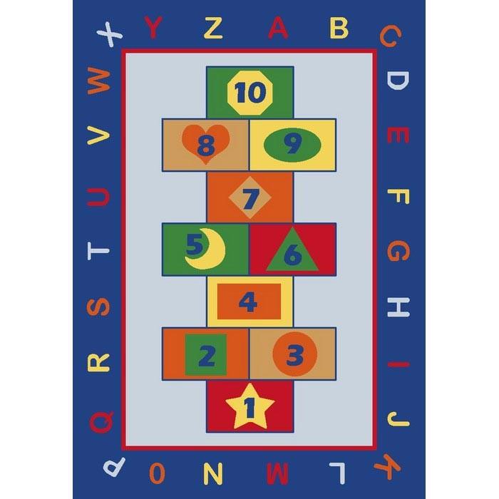 Аксессуары для детской комнаты Confetti Kids Коврик Rugs Game 3 мм 133х190 см, Аксессуары для детской комнаты - артикул:471441