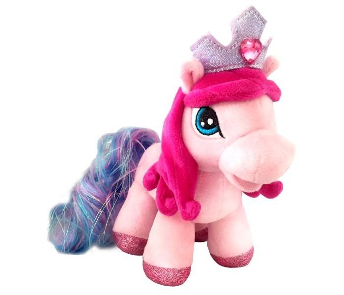 Купить Мягкие игрушки, Мягкая игрушка Мульти-пульти Пони Кристалл 17 см