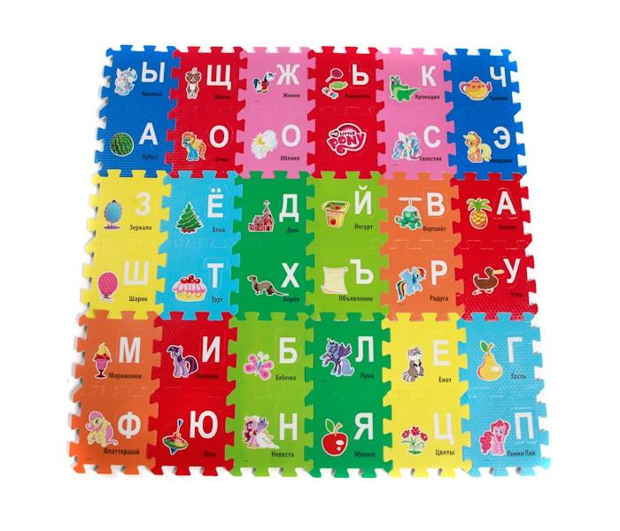 Игровые коврики Играем вместе My little pony с буквами коврик-пазл