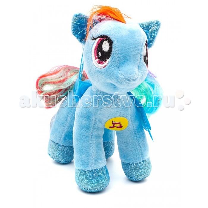 Мягкие игрушки Мульти-пульти Пони Радуга Дэш 18 см мягкие игрушки sonata style лошадка 28 см