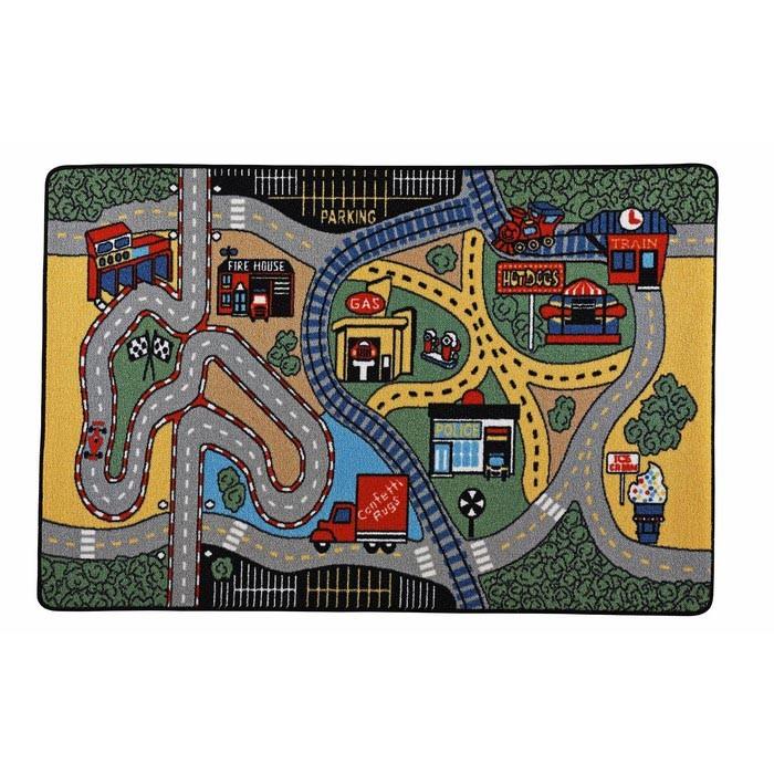 Детские ковры Confetti Kids Коврик Rugs Race 3 мм 133х190 см, Детские ковры - артикул:471476