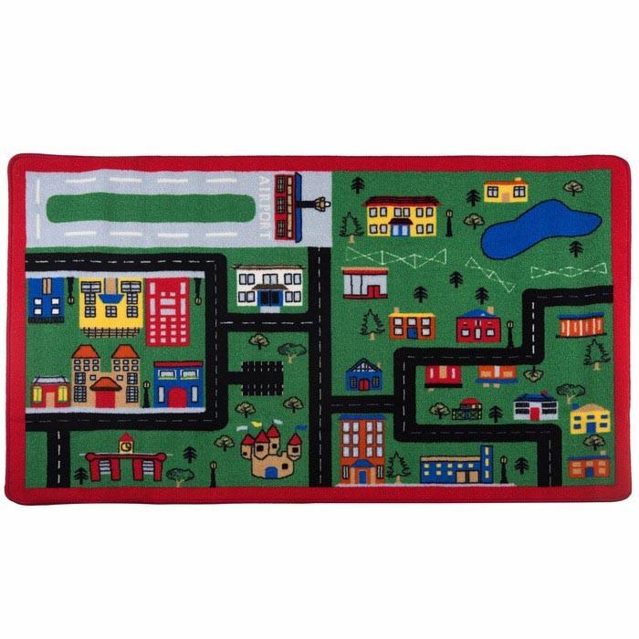 Детские ковры Confetti Kids Коврик Rugs Town 3 мм 133х190 см, Детские ковры - артикул:471541