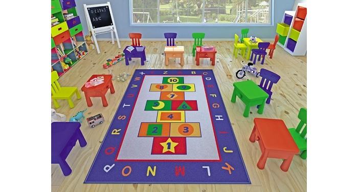 Детские ковры Confetti Kids Коврик Rugs Game 3 мм 100х150 см, Детские ковры - артикул:471546