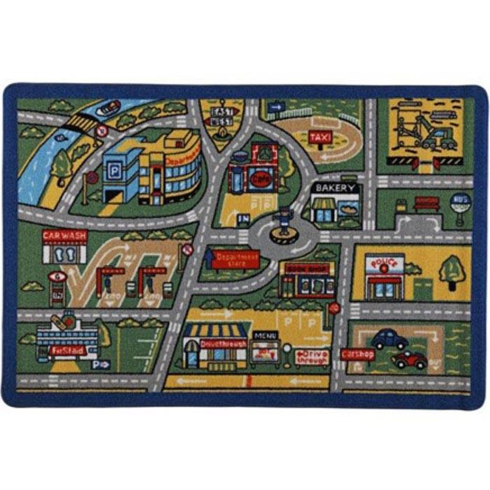 Детские ковры Confetti Kids Коврик Rugs Traffic 3 мм 100х150 см, Детские ковры - артикул:471571
