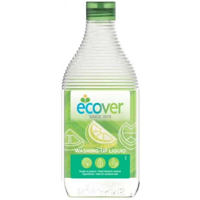 Бытовая химия Ecover Экологическая жидкость для мытья посуды с лимоном и алоэ-вера 0.45 л ecover экологическая жидкость для мытья посуды с лимоном и алоэ верой