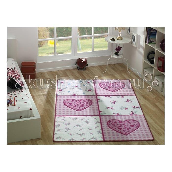 Детские ковры Confetti Kids Коврик Romantic 13 мм 100х150 см, Детские ковры - артикул:471711