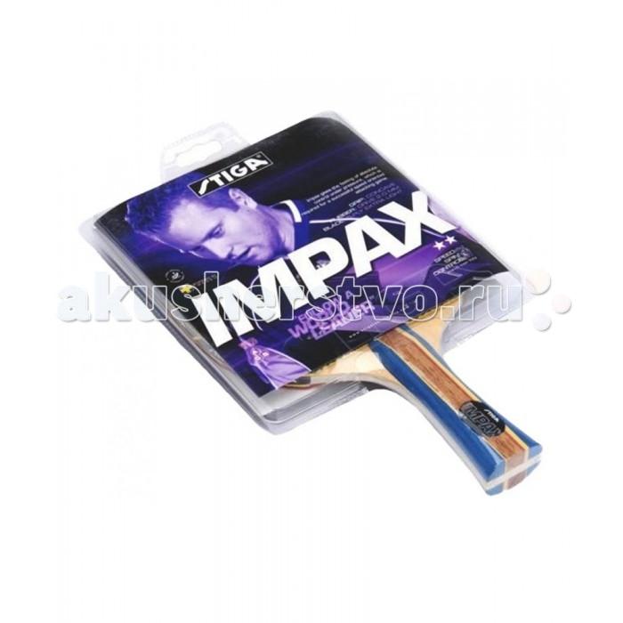 Спортивный инвентарь Stiga Ракетка для настольного тенниса 2 Impax