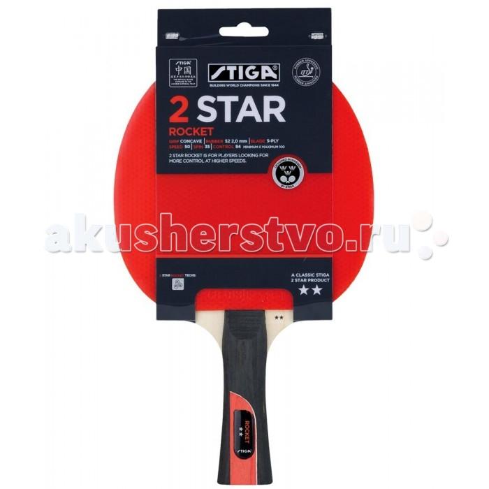 Спортивный инвентарь Stiga Ракетка для настольного тенниса 2 Rocket