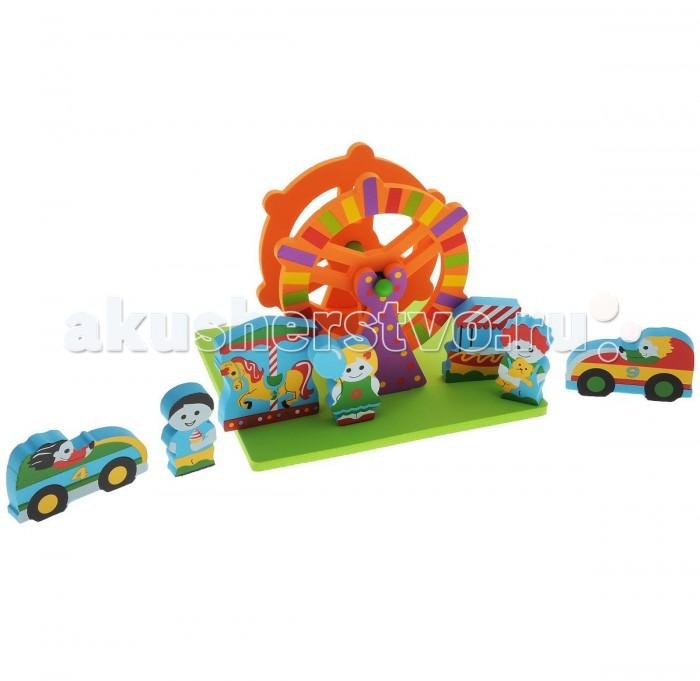 Игрушки для ванны Edushape Мягкий конструктор Парк развлечений lego friends конструктор парк развлечений игровые автоматы 41127