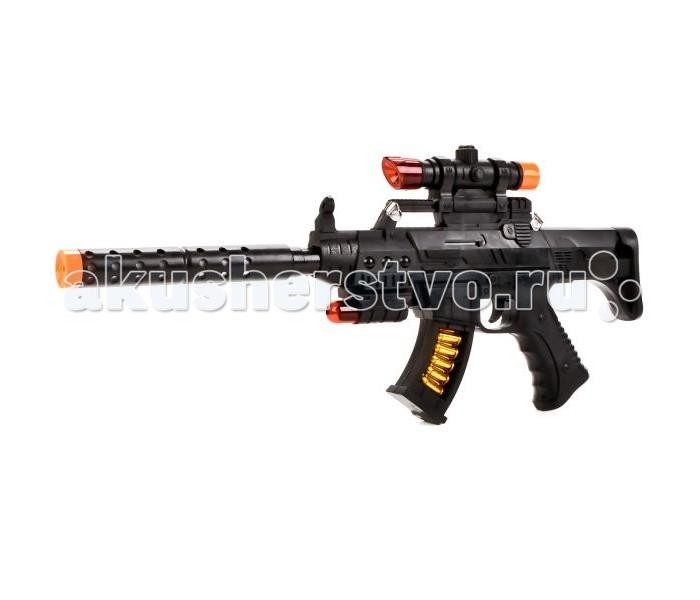 Игрушечное оружие Играем вместе Автомат с подвижным дулом свет+звук немецкий автомат мп 40 настоящий