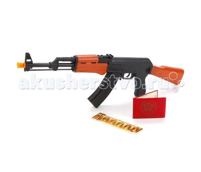 Игрушечное оружие Играем вместе Автомат АК-47 свет+звук автомат по продаже напитков xc212
