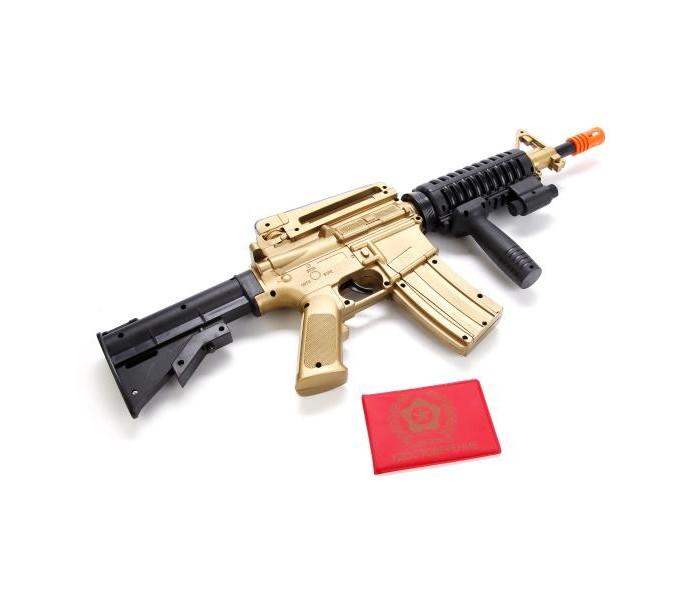 Игрушечное оружие Играем вместе Автомат М-16 со съемным прикладом