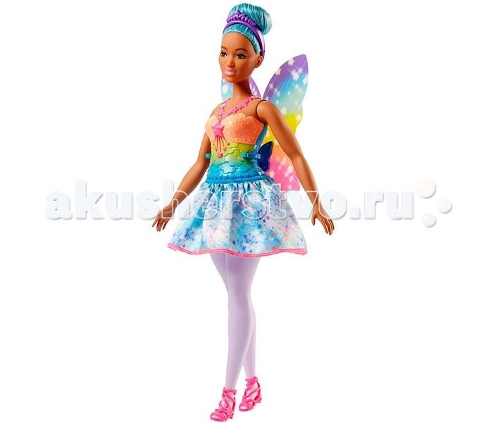 Куклы и одежда для кукол Barbie Mattel Кукла Барби Волшебная фея FJC87 mattel ever after high dvj20 отважные принцессы холли о хэир