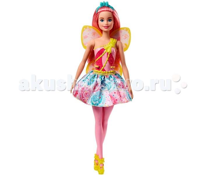 Куклы и одежда для кукол Barbie Mattel Кукла Барби Волшебная фея FJC88 холодильники для кукол для кукол с принадлежностями барби