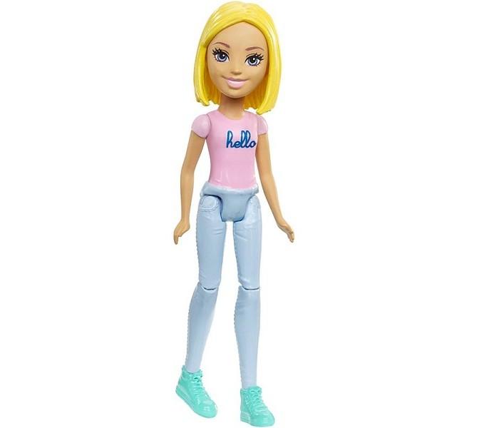 Куклы и одежда для кукол Barbie Mattel Кукла Барби В движении Pink mattel barbie dmb27 барби сестра barbie с питомцем