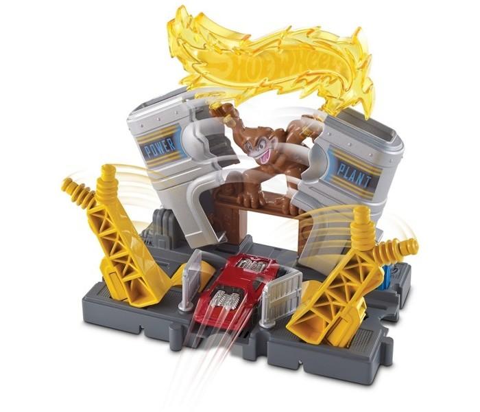 Машины Hot Wheels Mattel Сити Игровой набор FRH31 пледы непоседа покрывало стеганое hot wheels найт сити 145х200 см