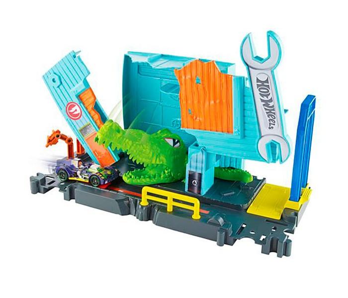 Машины Hot Wheels Mattel Игровой набор Сити с монстрами-злодеями FNB06 пледы непоседа покрывало стеганое hot wheels найт сити 145х200 см