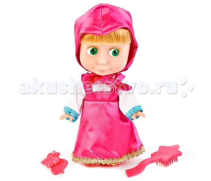Куклы и одежда для кукол Карапуз Кукла Маша и медведь Маша 15 см