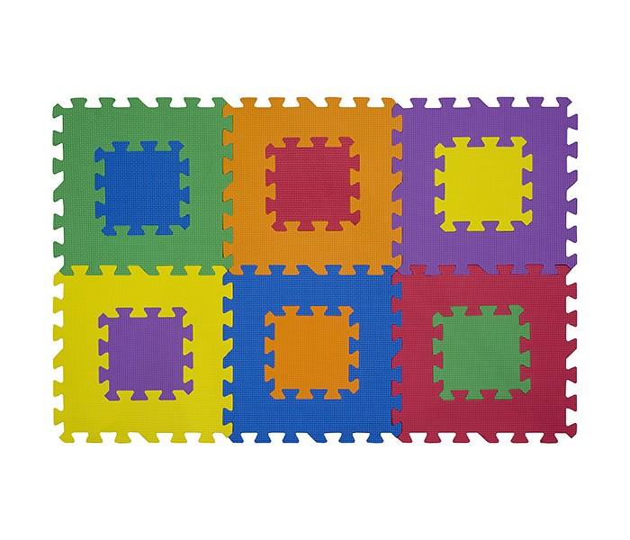 Игровые коврики FunKids 12 Мозаика-12, толщина 10мм KB-049-6-NT10-M игровые коврики funkids пазл 12 без изображений рельефный