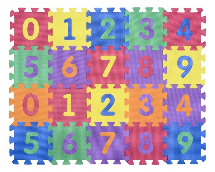 Игровые коврики FunKids 6 Цифры-4-10, толщина 10мм KB-002-6-NT10