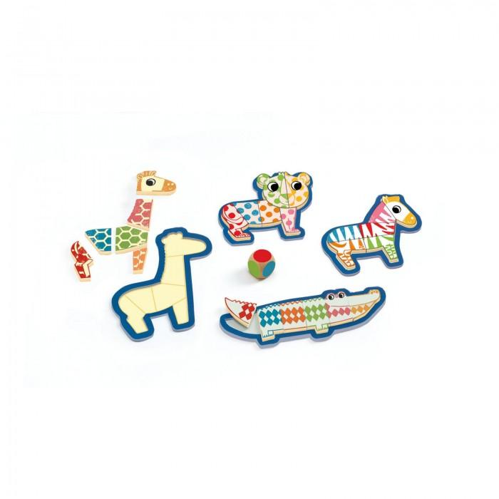 Пазлы Djeco Настольная игра-пазл Бингонимо djeco пазл для малышей лесные животные