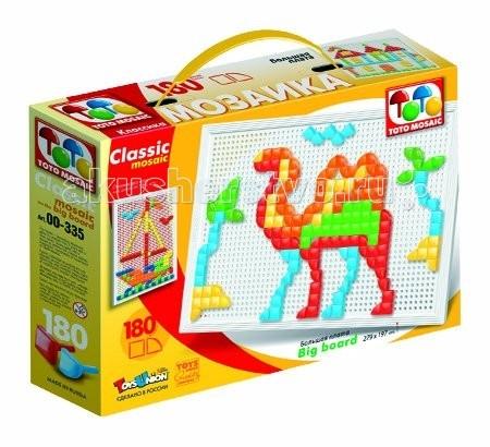 Мозаика ToysUnion Мозаика CLASSIC MOSAIC Корабль пустыни большая плата 1х10 мозаика toto mosaic цветочек аква 00 263