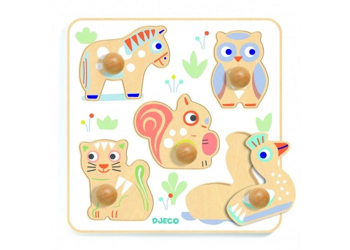 деревянные игрушки djeco развивающая мусса Деревянные игрушки Djeco Сортировка форма цвет