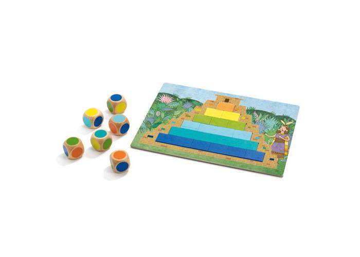 Игры для школьников Djeco Игра настольная Пирамида настольные игры djeco настольная карточная игра мистибоо