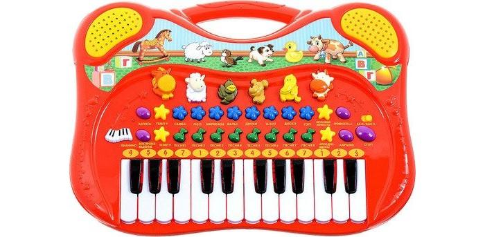 Музыкальные игрушки Умка Пианино Стихи и песни на стихи А. Барто