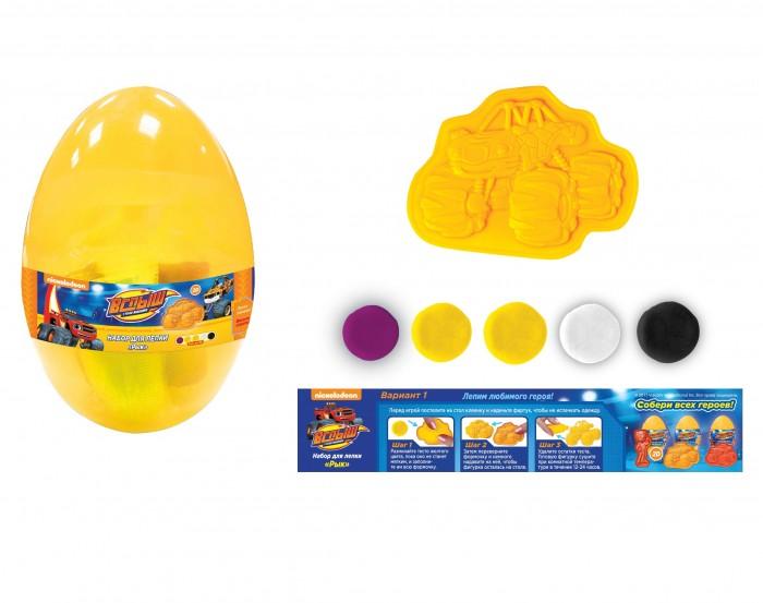 Всё для лепки Вспыш Набор для лепки Рык яйцо масса для лепки candy clay набор круассан