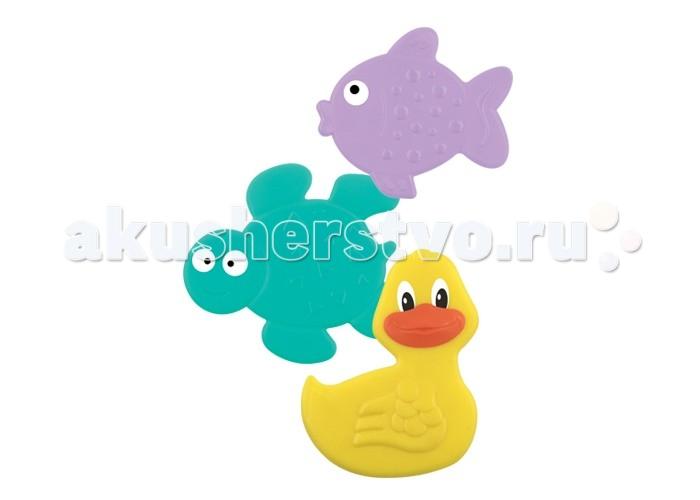 Коврики для купания Lubby для ванны в наборе Подводный мир 3 шт. набор для ванны подводный мир 55390