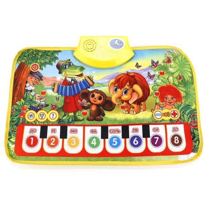 Игровые коврики Умка Пианино Любимые мультяшки умка игрушка пианино умка