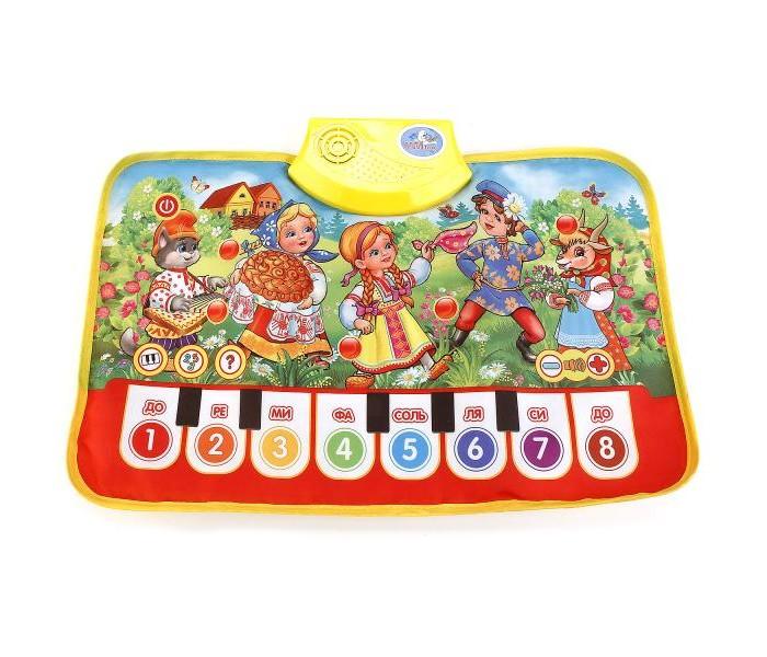 Игровые коврики Умка Пианино Любимые потешки умка игрушка пианино умка