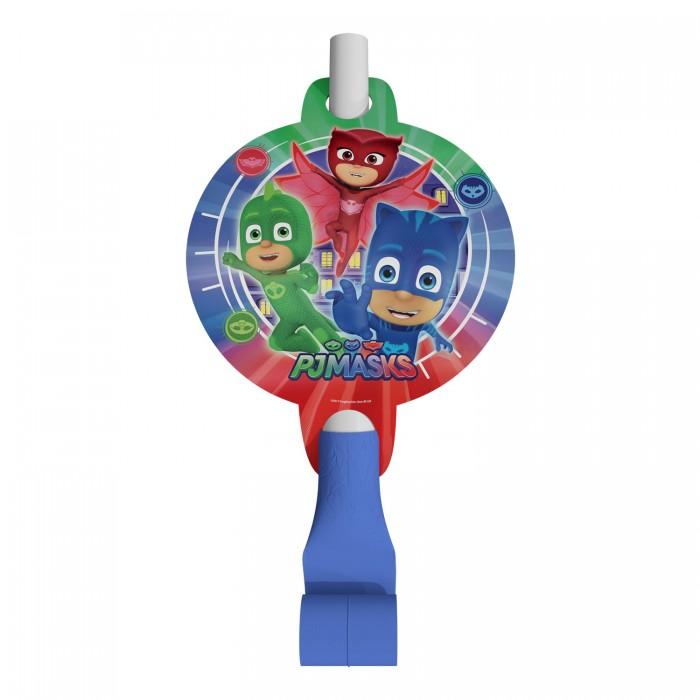Товары для праздника Герои в масках (PJ Masks) Набор язычков 6 шт. бумажные герои