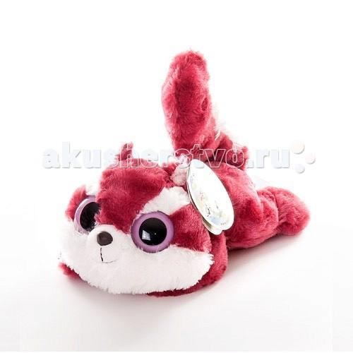 Мягкая игрушка Aurora Юху и друзья Белка Чиву лежачая 16 см