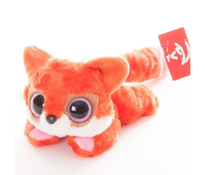 Мягкие игрушки Aurora Юху и друзья Лисица красная лежачая 16 см