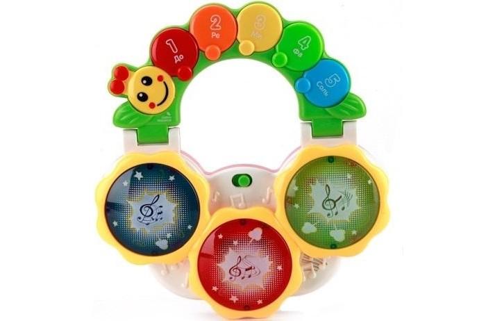 Музыкальные игрушки Умка Гусеница умка погремушка гусеница