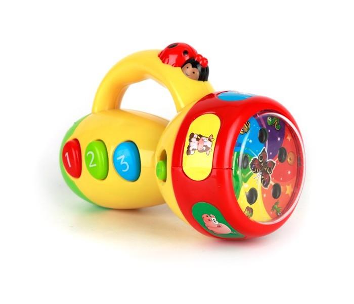 Развивающие игрушки Умка Музыкальный фонарик-проектор transformers фонарик проектор 3 в 1