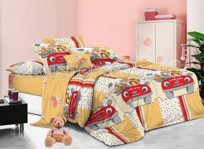 Постельные принадлежности , Постельное белье 1.5-спальное Sweet Baby Grande Motore 1,5 спальное (3 предмета) арт: 474826 -  Постельное белье 1.5-спальное