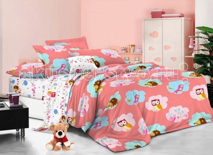 Постельные принадлежности , Постельное белье 1.5-спальное Sweet Baby Grande Nuvole 1,5 спальное (3 предмета) арт: 474831 -  Постельное белье 1.5-спальное