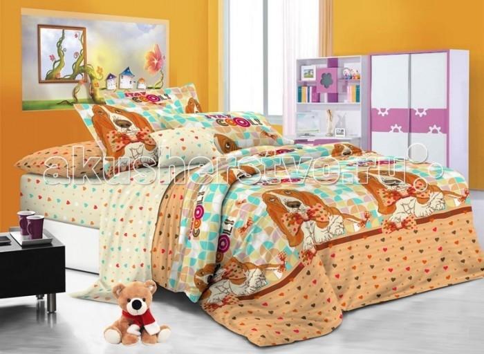 Постельные принадлежности , Постельное белье 1.5-спальное Sweet Baby Grande Сucciolo 1,5 спальное (3 предмета) арт: 474841 -  Постельное белье 1.5-спальное