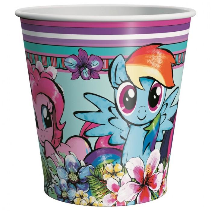 Товары для праздника Май Литл Пони (My Little Pony) Набор стаканов 6 шт. 210 мл мыльные пузыри май литл пони my little pony мыльные пузыри волшебная палочка 200 мл 32653