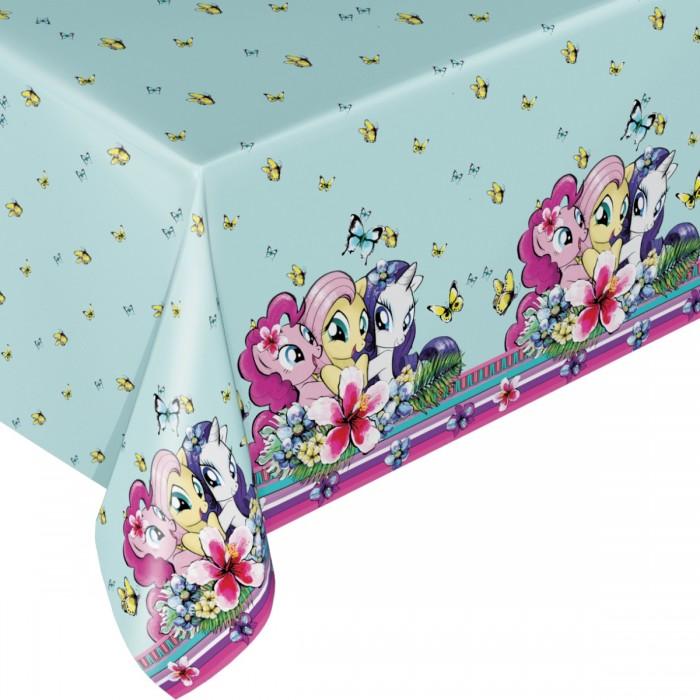 Товары для праздника Май Литл Пони (My Little Pony) Скатерть 133 х 183 см 34607 amscan скатерть my little pony 120 см х 180 см