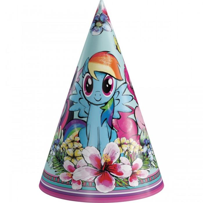 Товары для праздника Май Литл Пони (My Little Pony) Набор колпаков 6 шт. коллекционный игровой набор my little pony май литл пони библиотека золотой дуб