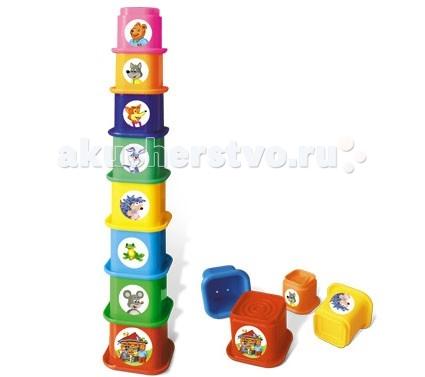 Развивающие игрушки Стеллар Пирамида Теремок развивающие игрушки стеллар пирамида занимательная большая
