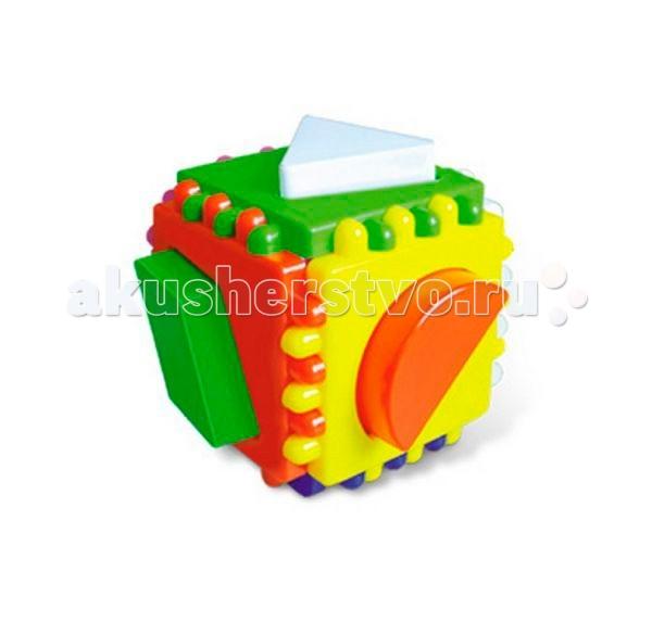 Сортеры Стеллар Логический куб малый корвет обучающие игры и упражнения логический экран