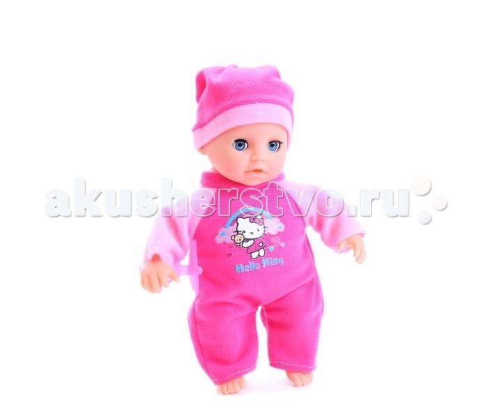 Куклы и одежда для кукол Карапуз Кукла Пупс Hello Kitty 20 см куклы карапуз пупс карапуз hello kitty 20 см 3 функции пьет писает закрывает глазки с аксессуарами